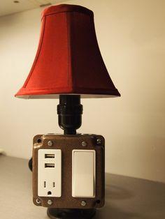 DIY Lamp On Pinterest