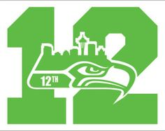 Order this Pack of Seattle Seahawks th Man Number vinyl decals and apply to almost ANY SMOOTH surface Great for car windows school lockers mirrors laptops basically wherever you want Seahawks Memes, Seahawks Fans, Seahawks Football, Seattle Seahawks Logo, Seattle Skyline, Skyline Logo, Hawk Logo, Dallas Cowboys Shirts, Painted Canvas Shoes