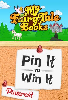 #Pinit to win it #PinterestContest hosted by @MyFairyTaleBooks - Personalized Books,CDs & DVDs