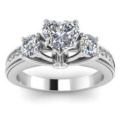Anillos De Bodas De Diamante Más Caro | 25 Ct Original Diamond