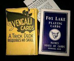 Svengali Cards Magic Trick