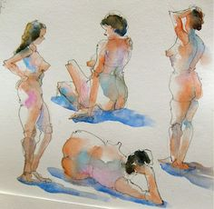 Nora MacPhail - Artist: life drawing gestures
