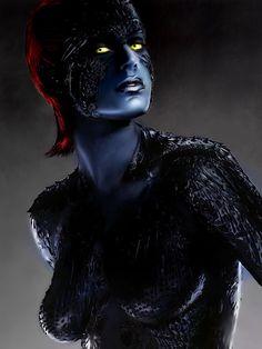Rebecca Romijn as Raven Darkholme / Mystique (X-MEN)