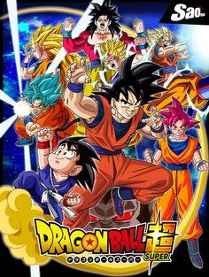 Goku DragonBall Poster by SaoDVD on DeviantArt