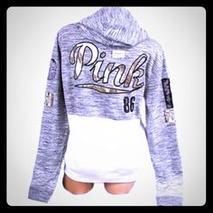 Selling this NWOT VS PINK BLACK BLING ZIP UP HOODIE JACKET XS/S in my Poshmark closet! My username is: cmccullough9. #shopmycloset #poshmark #fashion #shopping #style #forsale #PINK Victoria's Secret #Jackets