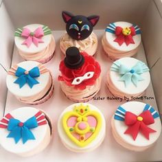 sailor moon cupcake                                                       …