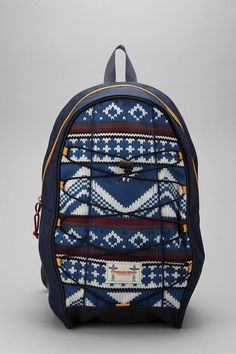 O'Hanlon MIlls Fair Isle Backpack $59 available at Urban Outfitters