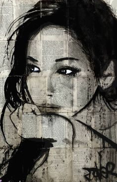 "Saatchi Art Artist Loui Jover; Drawing, ""ruth"" #art"