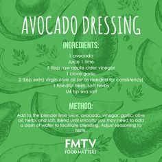 Did you know you absorb more nutrients from your food with a little fat added? Use this dressing on all your favorites for a delicious flavor and nutrient boost!