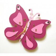Piątek:)  Przepiękny, wiszący odmierzy Wam czas do weekendu:)  Purpurowy Zegar Ścienny Motylek dla Dziewczynki do pokoiku. Całość z pięknymi dodatkami w kolorach różu - Idealny na prezent.  Sprawdźcie sami:)  http://www.niczchin.pl/zegary-scienne-dla-dzieci/2223-purpurowy-motylek-zegar-scienny-dla-dziewczynki.html  #zegarscienny #zegarmotyl #dopokoiku #zabawki #niczchin #kraków