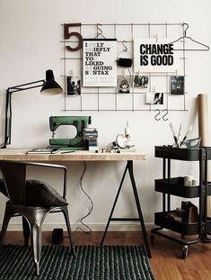 Cute Desk Decor Ideas for your dorm or office! #desk #decor #ideas #cute #chic #office
