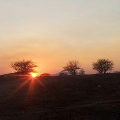 Atardecer del 31 de marzo en la cuna del sol Jutiapa
