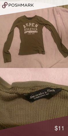Abrocrombie and Fitch shirt Long sleeved thermal super soft Abercrombie & Fitch Tops