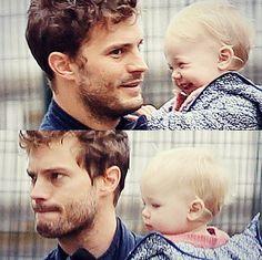 Jamie dornan sweetness his daughter.