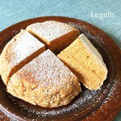 バナナきなこパン☆混ぜてフライパンで焼くだけ30分♪朝ごはんにソーダブレッド♪