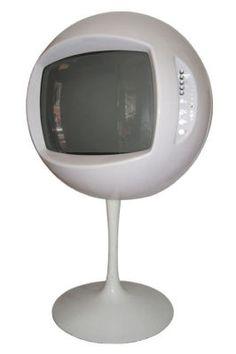 Keracolor TV VINTAGE RETRO  SPACE AGE TELEVISION