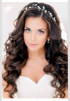 Wedding Hairstyles for Long Hair Half Up.Wedding Hairstyles for Long Hair 2017 for Brides.Creative And Beautiful Wedding Hairstyles For Long Hair. Related PostsBeautiful Wedding Hairstyles for Long HairBeautiful Different Long Hairstyles In WeddingEasy up Long Hair Wedding Styles, Wedding Hairstyles For Long Hair, Wedding Hair And Makeup, Down Hairstyles, Hair Makeup, Wedding Curls, Trendy Wedding, Perfect Wedding, Bridesmaid Hairstyles