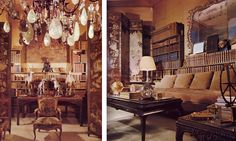 Coco Chanel's Parisian apartment, Scans of Chanel's interiors from Architectural Digest Celebrity Homes, 1977. Blog by (IN)DECOROUS TASTE