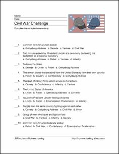 http://homeschooling.about.com/od/freeprintables/ss/civilwarprint_4.htm