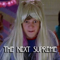 Haha he still looks good in a wig