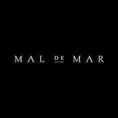 Mal de Mar designed by Face. #logo #logotype #branding