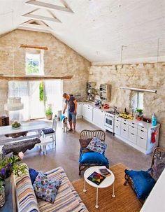 Una preciosa casa de campo en un molino