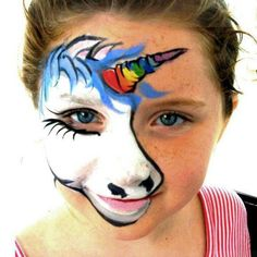 Unicorn face painting ideas for kids