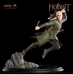 Hobbit Collectibles - Legolas Greenleaf 1/6 scale statue and if I had $279 just laying around?  I would totally order this