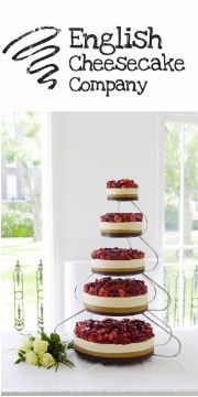 Win a Wedding Cake from the English Cheesecake Company competition - worth registering on this site - lots of comps!
