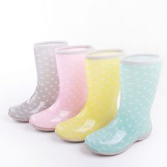 Fluorescent Transparent  Boots rain boots color: size:35-39 Please choose one size bigger than you normal wear color:yellow pink gray blue 15613493417