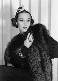 "DOLORES DEL RIO ~ Born: Aug 3, 1904 in  Durango, Mexico. Died: April 11, 1983 (aged 78) of liver failure. She was a Mexican actress in Hollywood in the '20s & '30s, & was one of the most important womanly figures of the Golden Age of Mexican cinema in the '40s and '50s. One of the few stars of the silent era to adapt to the talkies w/ successful films like ""Bird of Paradise"" (1932) & ""Flying Down to Rio"" (1933). Del Río returned to Mexico & ""María Candelaria"" (1943) is considered her…"