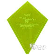 Wacky Web Template from Missouri Star Quilt Co for the vid to make the candle mats :)