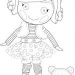 Printable Lalaloopsy Coloring pages for FREE! I am making a coloring book for the girls to take home!