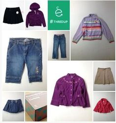 Do your back to school shopping now, before everyone else snatch up the deals. See how you can get brand name items as low as $2 each or even FREE! I got 20 pieces for $0.30!  Brands such as Gymboree, Tommy Hilfiger, OshKosh B'gosh, The Children's Place, Gap, Disney, Levi's & DKNY
