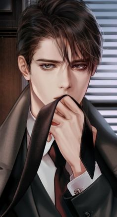 Dark Anime Guys, Cool Anime Guys, Hot Anime Boy, Handsome Anime Guys, Romantic Anime Couples, Romantic Manga, Fantasy Art Men, Anime Art Fantasy, Anime Boy Sketch