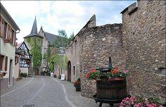 La rue principale de Kientzheim