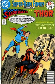 Super-Team Family: The Lost Issues!: Superman and Thor