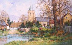 Ian Ramsay Watercolors - Ducklington, Oxfordshire, England