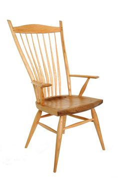 Mule Ear Arm Chair by Jacob Tittle Chairmaker