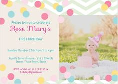 Happy Birthday Invitation Card With Name N Photo