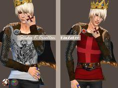 medieval edge-Black Knight Top