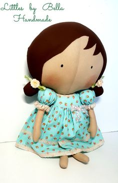 Tilda sweetheart doll tilda children Tilda toy by littlesbyBella