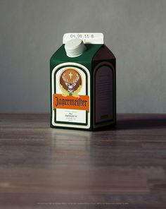 Jagermeister for when you're on the go Lmao its so little and cute bahaha