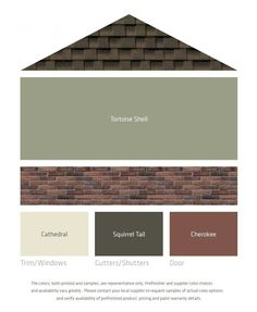 Fresh Color Palettes For A Brown Roof. Live Near Glen Ellyn, IL And  Interested In Siding Your Home? Call Ultimate Home Solutions For A Free  In Home Estimate ...