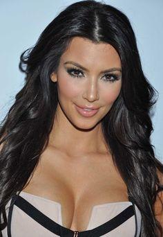 Kim Kardashian hair!