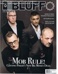#bluffmagazine ##hendonmob #greatrock #winningstreak
