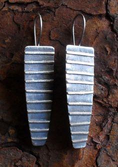 Sterling Silver Earrings Sterling Earrings Long by LisaFlanders