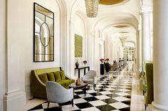 Started 2016 at the Trianon Palace Versailles - Luxury Hotel by Waldorf Astoria