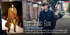 Did you know this Lee Jong Suk tidbit?