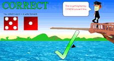 Get questions correct to force them to Walk the Plank! Really cool game.